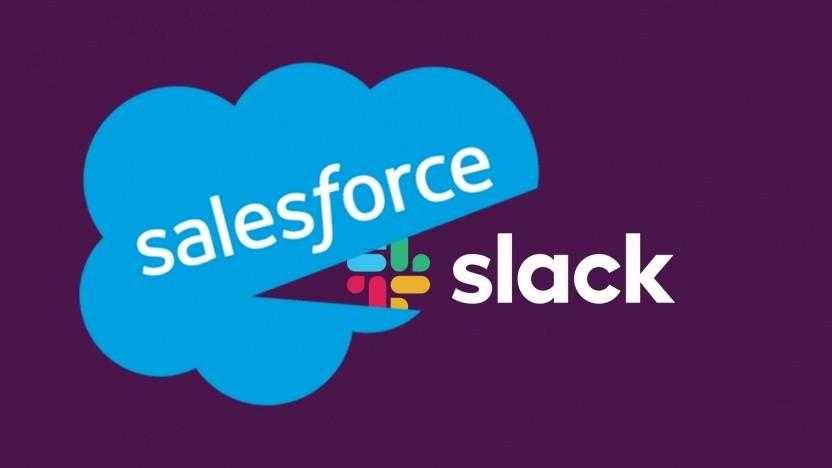 Salesforce kauft Slack ein.