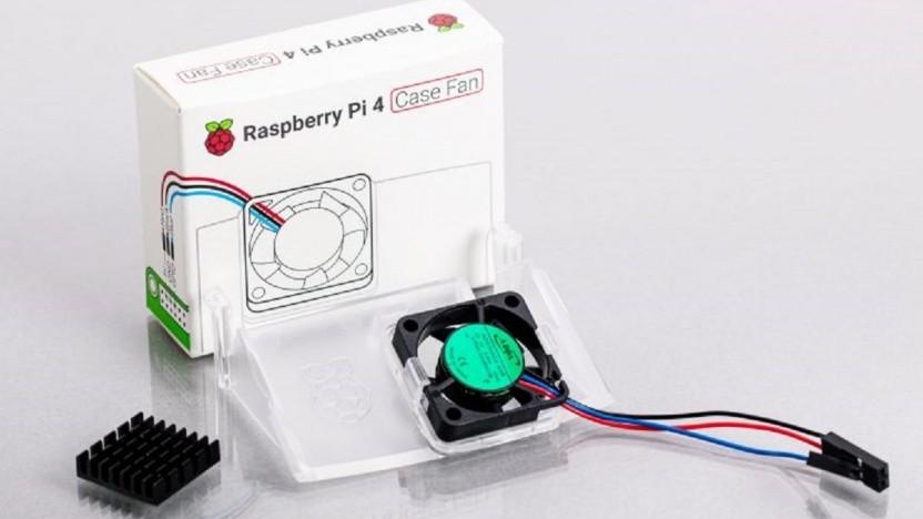 Der Case Fan kann die Temperaturen des Raspberry Pi 4B niedriger halten.