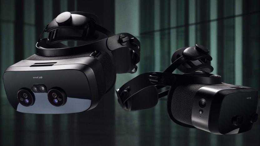 Das Varjo XR-3 und VR-3