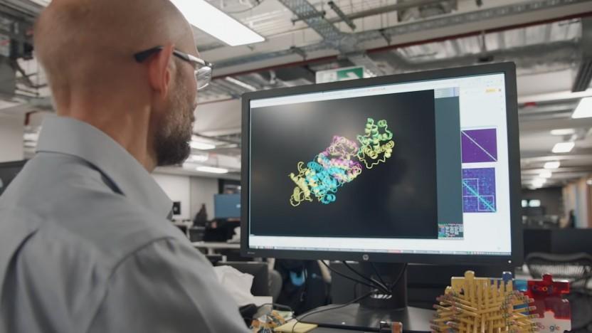 Deepmind arbeitet seit mehreren Jahren an der Bestimmung von Proteinstrukturen.