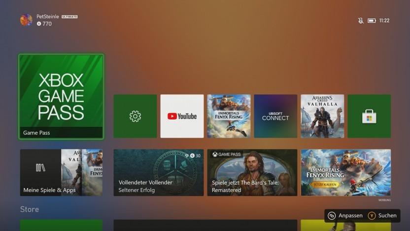 Einer der neuen dynamischen Desktophintergründe
