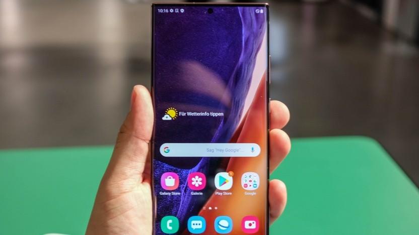 Das Galaxy S20 Ultra von Samsung