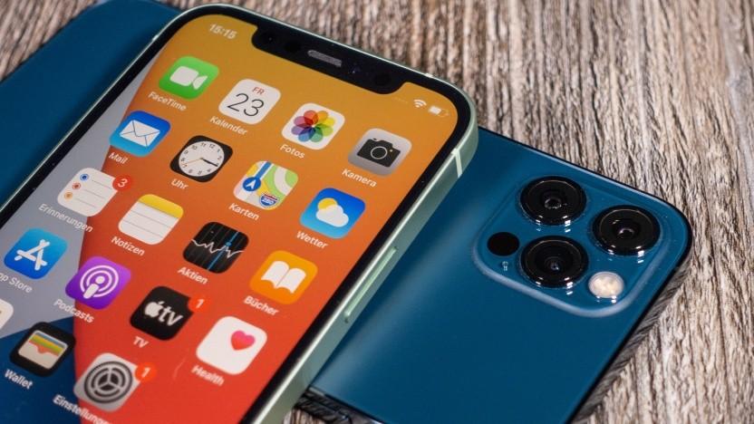 Bei den iPhone-12-Modellen gibt es offenbar Probleme mit dem Empfang.