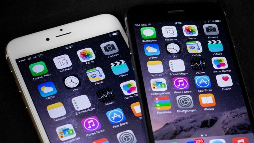 Zu den von der Drosselung betroffenen Geräten gehören das iPhone 6 und 6 Plus.