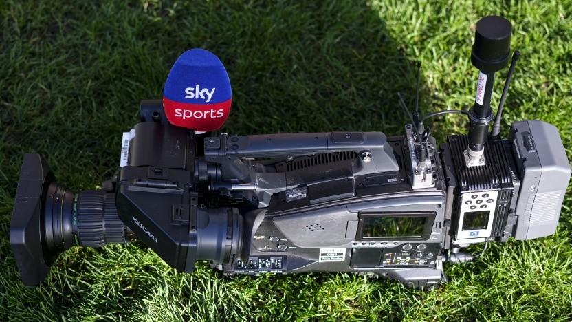 Wenn keine Sportveranstaltungen stattfinden, können die Sky-Kameras auch nichts übertragen.