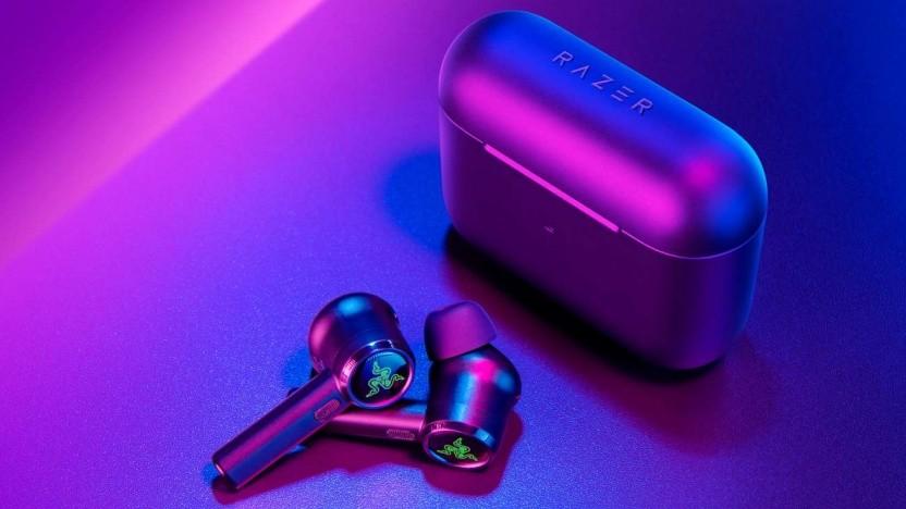 Die Hammerhead True Wireless Pro von Razer
