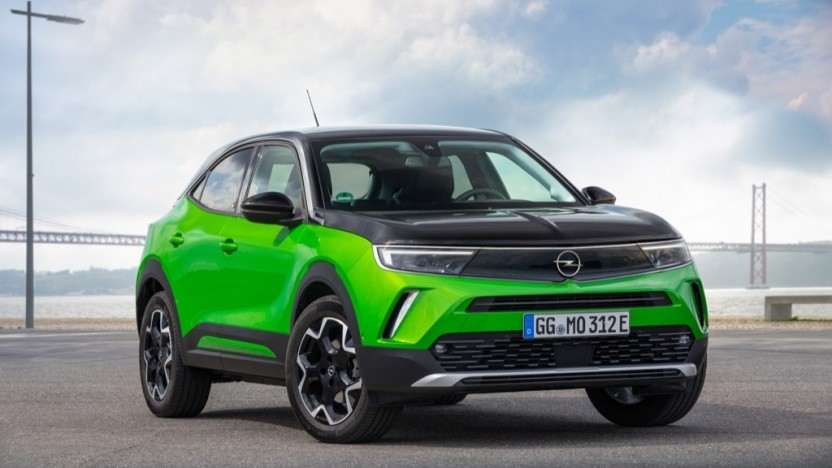 Der Opel Mokka-e wird in Frankreich gebaut.