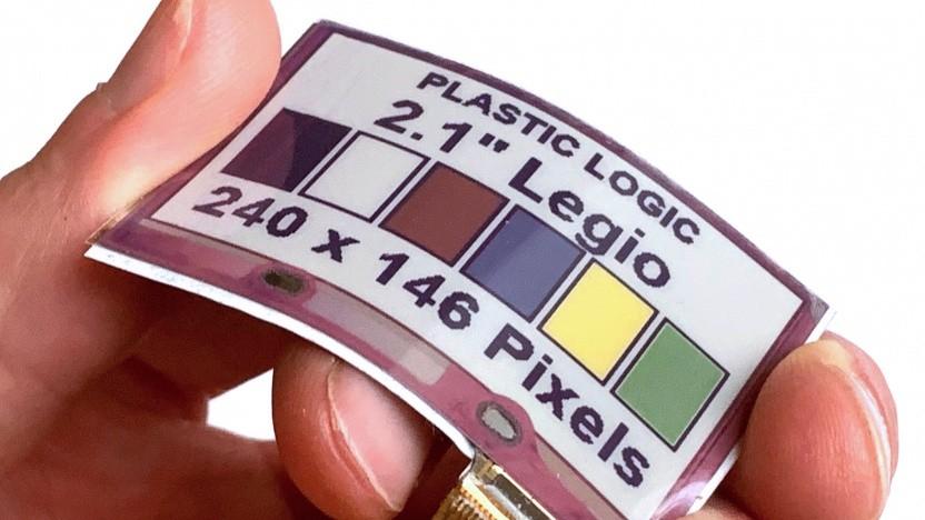 Das Display lässt sich im Radius von 30 mm biegen.