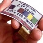 Plastic Logic und E-Ink: Biegbares E-Paper-Display stellt mehrere Farben dar
