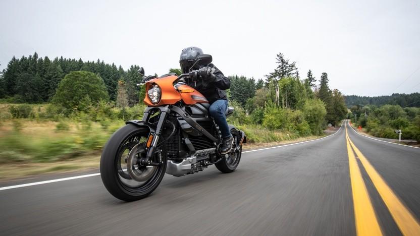 Die Livewire ist die erste elektrische Harley-Davidson