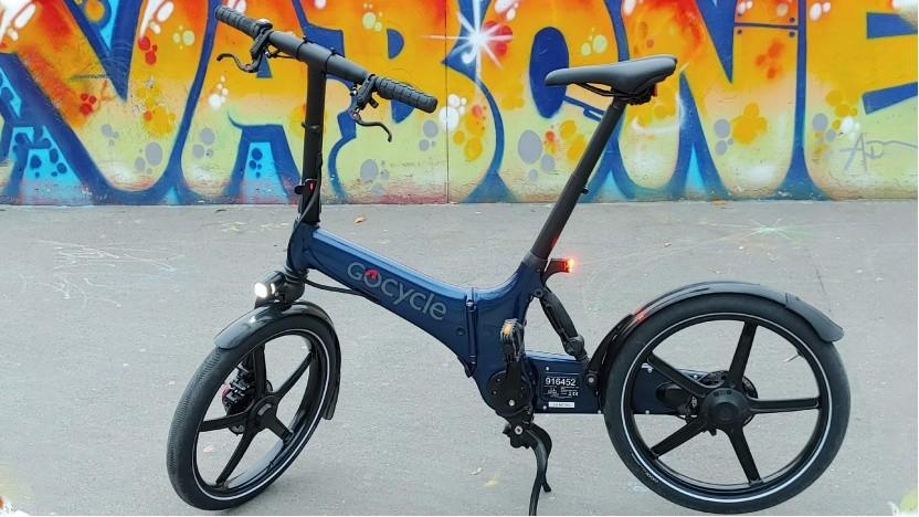 Das Gocycle GX ist für die Stadt gemacht.