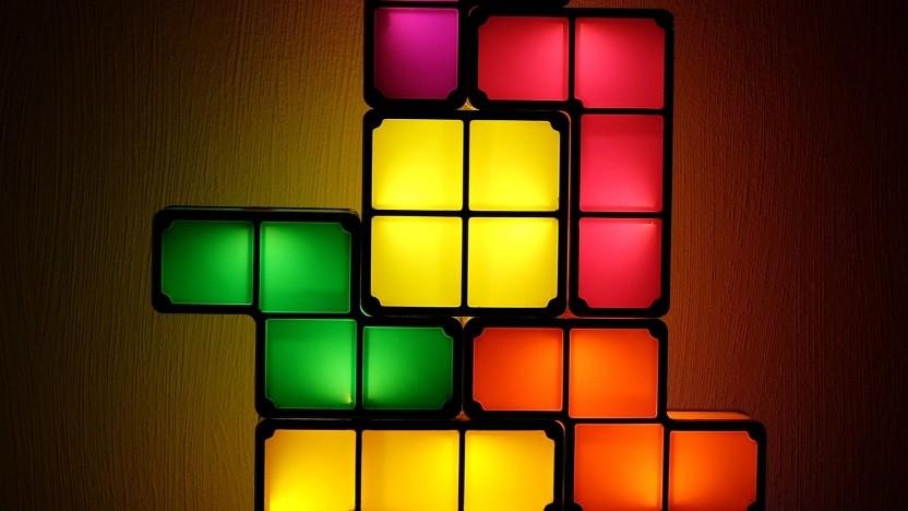 Tetris funktioniert auch im Task-Manager.