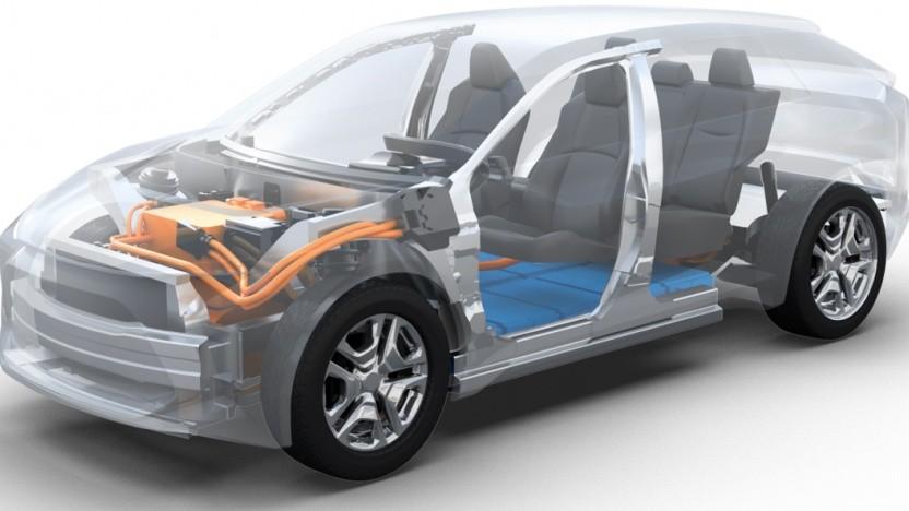 Toyota plant ein Elektro-SUV.