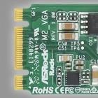 M2_VGA: Asrocks SSD-Modul ist ein Grafikkärtchen