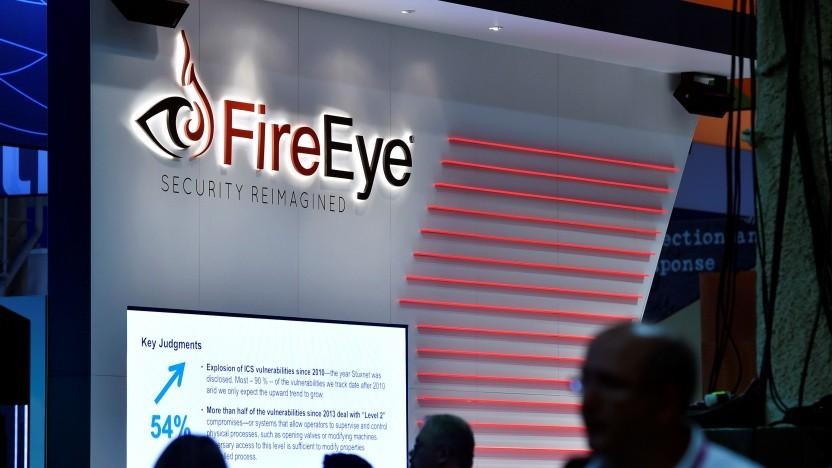 Der Stand von Fireeye auf der Security-Messe Black Hat