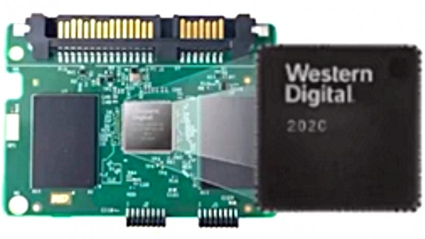 SSD-Prototyp mit RISC-V-Controller