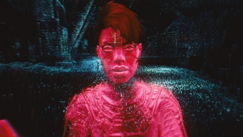 Braindance-Sequenz in Cyberpunk 2077