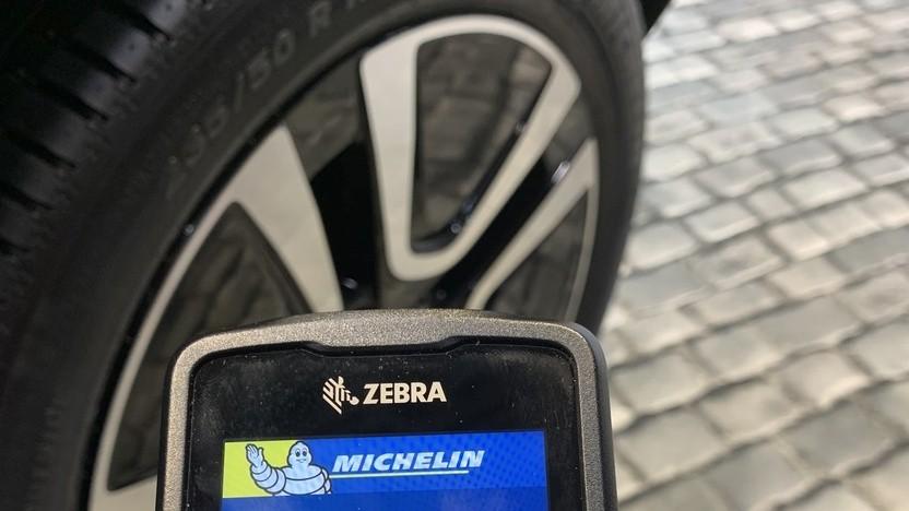RFID-Leser für den Reifen