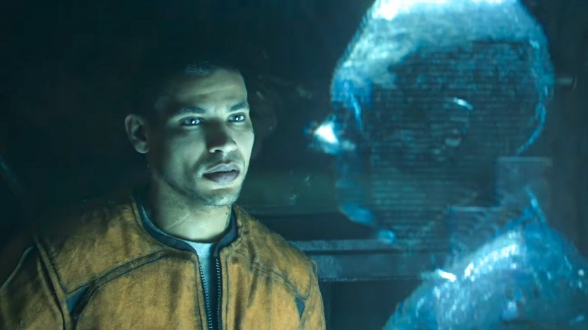 Szene aus dem Teaservideo von The Callisto Protocol