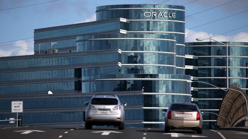 Hauptquartier von Oracle in Redwood City