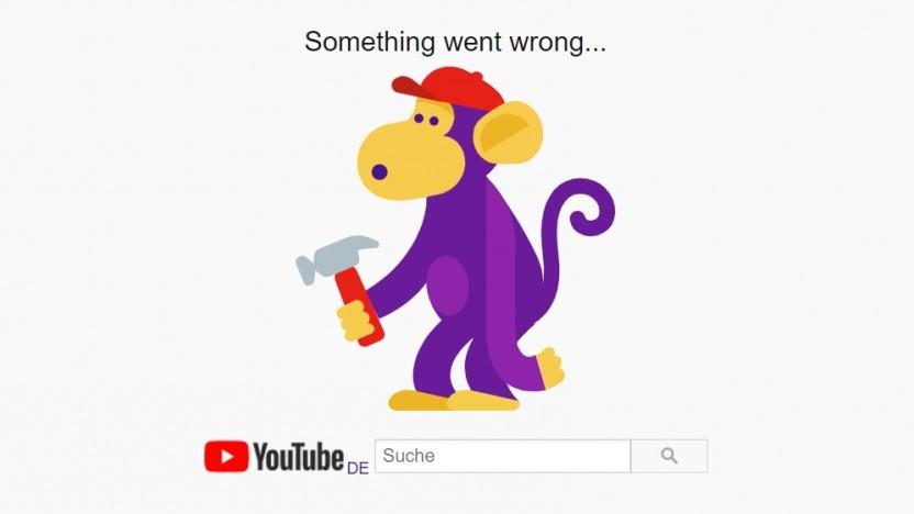 Youtube und andere Google-Dienste mit Kontointegration funktionieren gerade nicht.