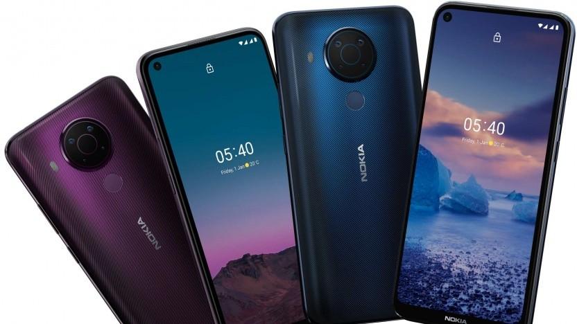 Das Nokia 5.4 von HMD Global