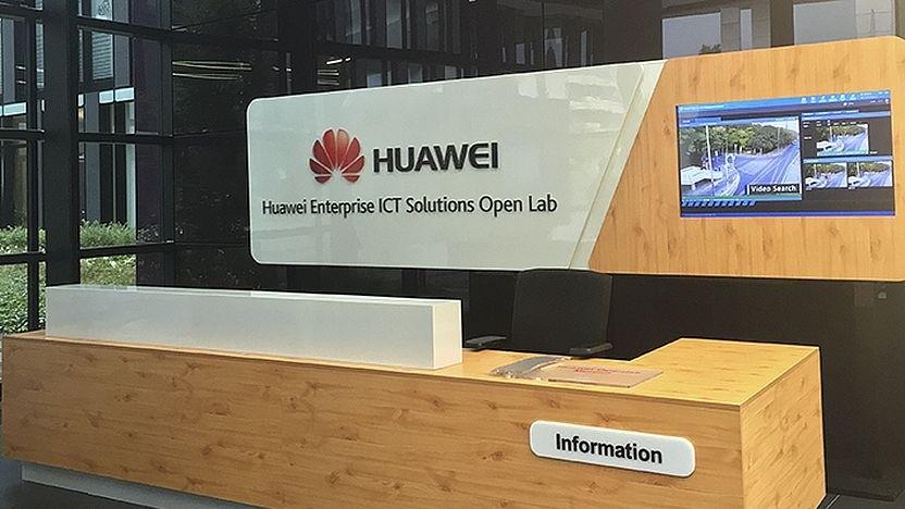 Eine der Niederlassungen von Huawei in Deutschland