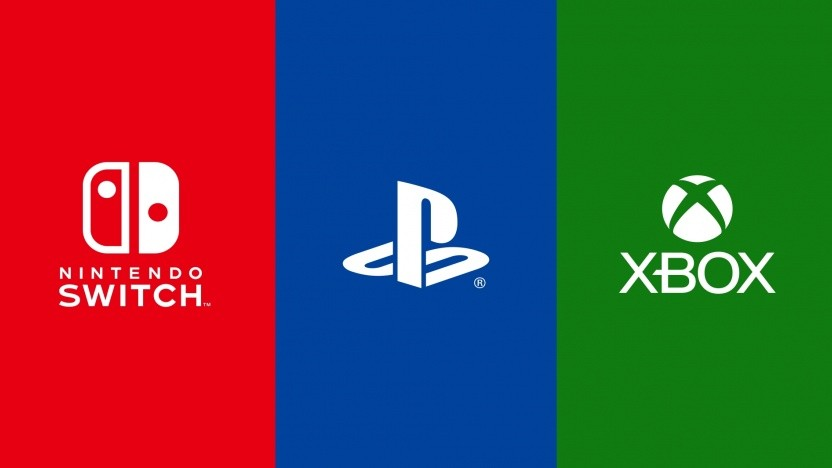 Die Logos der Konsolenhersteller