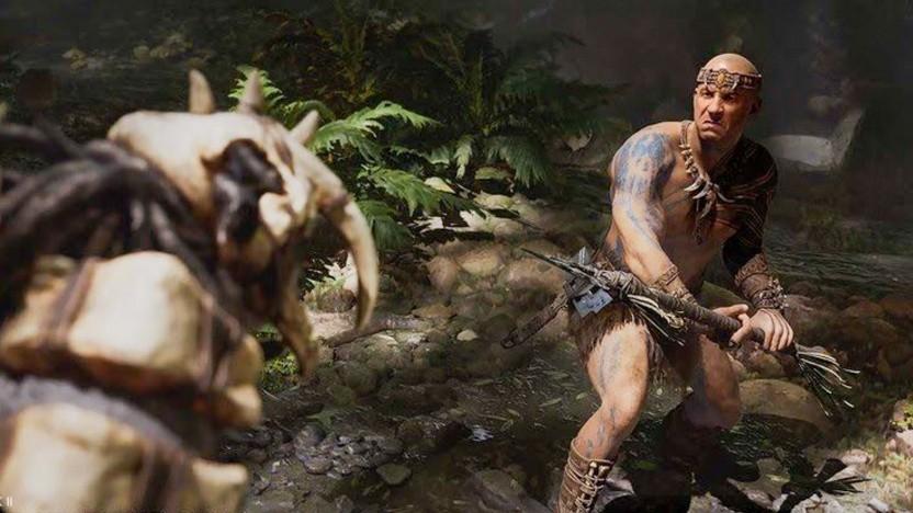 Artwork von Vin Diesel in Ark 2