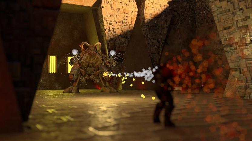 Szene aus Quake 2 RTX via Photo Mode