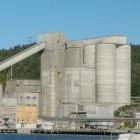CCS-Technologie: Heidelberg Cement plant Fabrik mit Kohlendioxidabscheidung