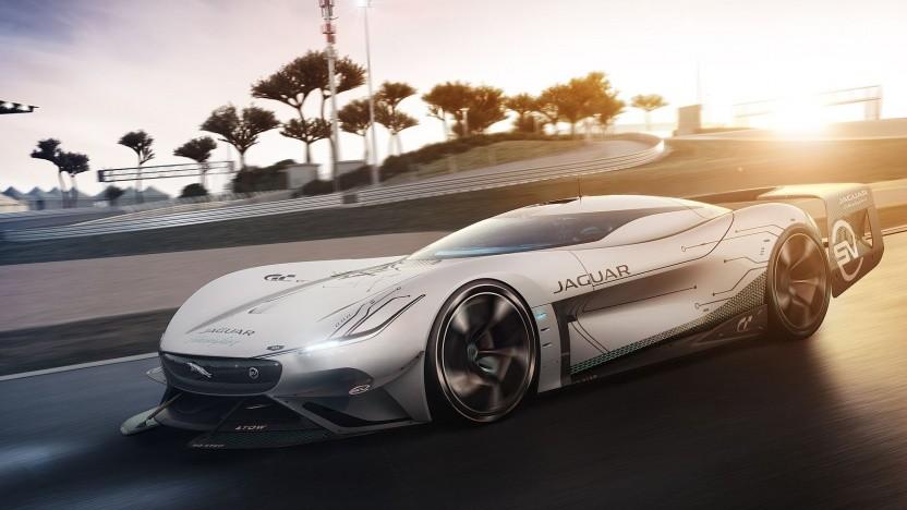 Jaguar Vision Gran Turismo SV: Designmodell in Originalgröße