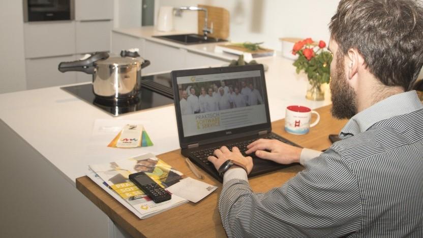 Auch der Arbeitsplatz in der eigenen Küche lässt sich pauschal absetzen.