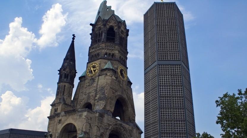 Glockenturm der Gedächtniskirche (rechts)