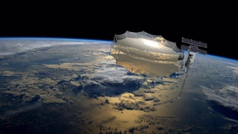 Künstlerische Darstellung von Capella 2: Sechs weitere Satelliten sollen folgen.