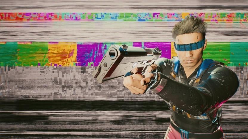 Fotomodus von Cyberpunk 2077