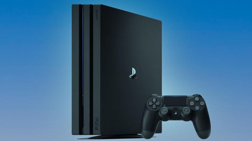 Artwork der Playstation 4 Pro