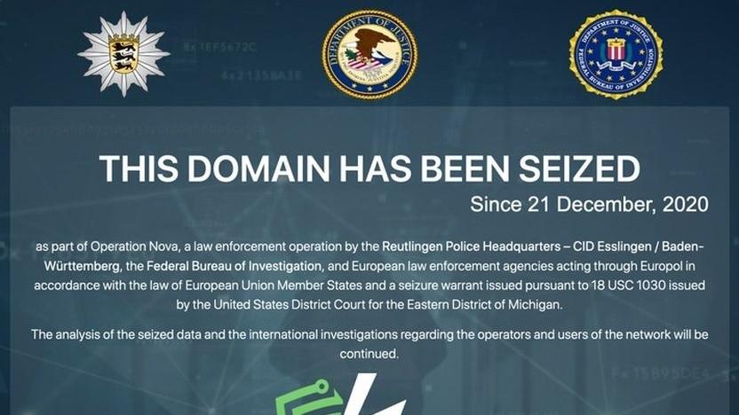 Geschlossene Seite des Netzwerks: Netz mit technischen Anonymisierungsmöglichkeiten