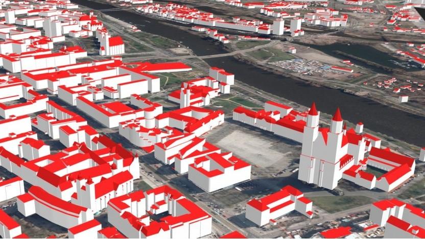 Die 3D-Gebäudemodelle Sachsen-Anhalts sind künftig Open Data.