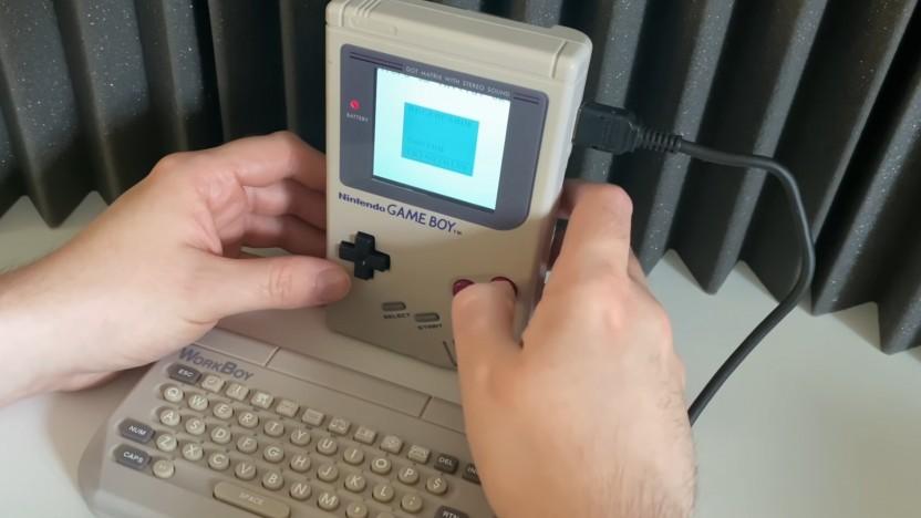 Der Workboy sollte den Game Boy zu mehr als einer Spielekonsole machen.