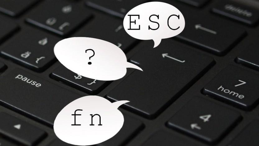 Apples Tastatur könnte mehrere Symbole anzeigen.
