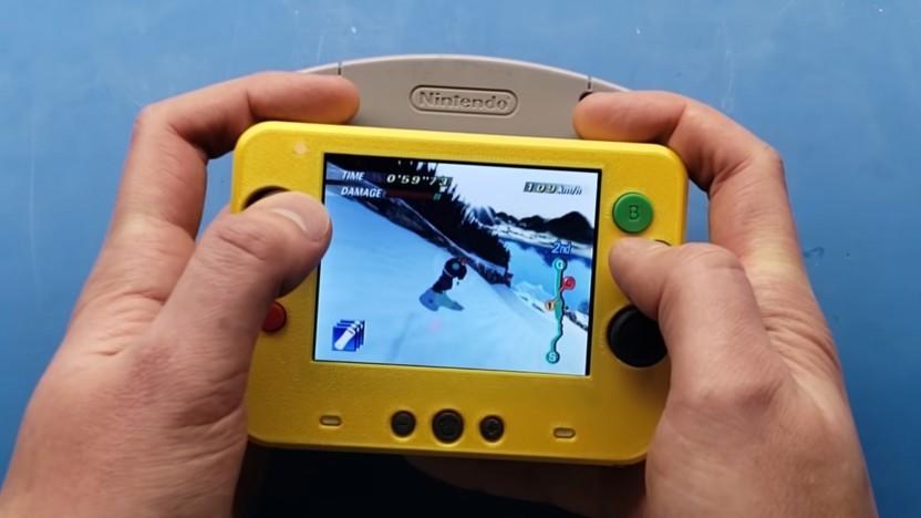 Die bislang kleinste N64 im Video