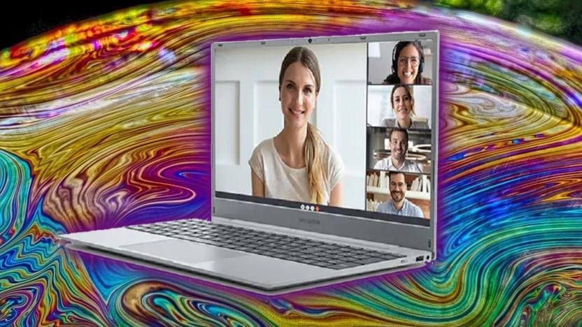 Medion verkauft das 15,6-Zoll-Notebook bei Aldi Nord.
