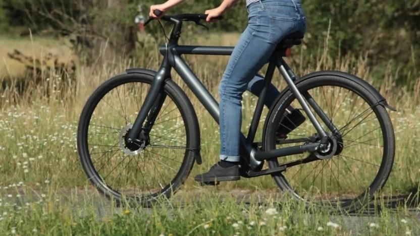 Der Akku ist bei vielen E-Bikes fest im Rahmen verbaut.