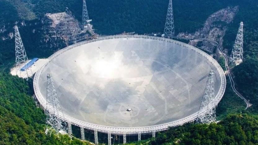 Radioteleskop Fast in Südchina: Suche nach außerirdischer Intelligenz
