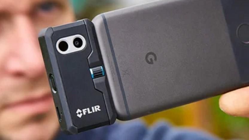 Flir baut auch Wärmebildkameras als Smartphone-Addon.