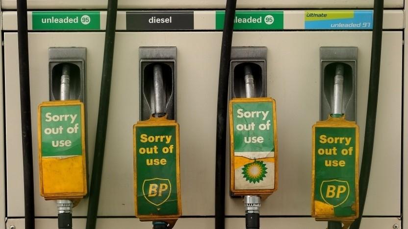 Tankstelle außer Betrieb (Symbolbild): Kohlendioxid-neutral bis 2050