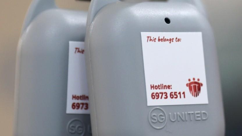 Die Kontaktnachverfolgung ist in Singapur auch über ein Token möglich.
