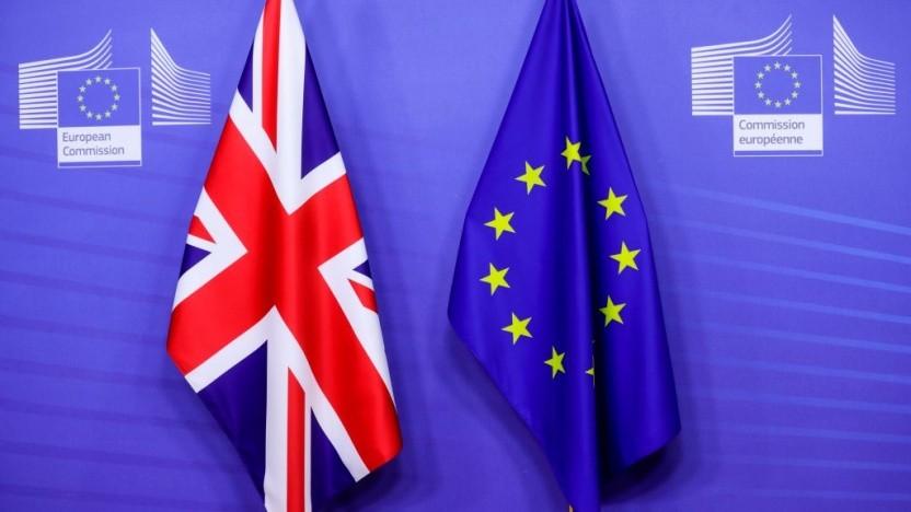 Der Brexit bedeutet auch den Abschied von einigen .eu-Domains.