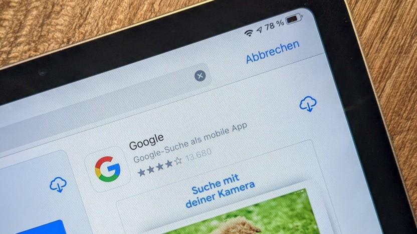 Google-App im App Store